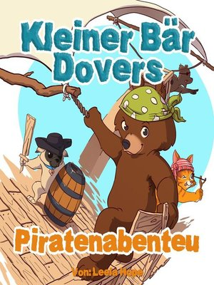 cover image of Kleiner Bär Dovers Piratenabenteuer