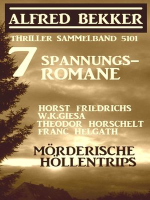 cover image of 7 Spannungsromane