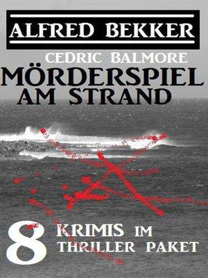 cover image of Mörderspiel am Strand