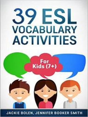 cover image of 39 ESL Vocabulary Activities