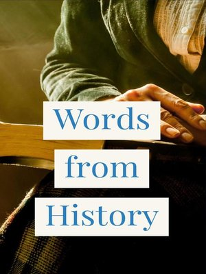 cover image of Words from History