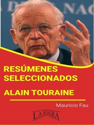 cover image of Alain Touraine