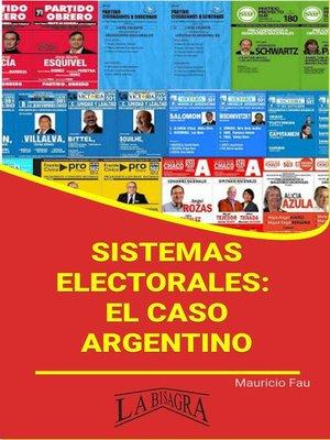 cover image of Sistemas Electorales