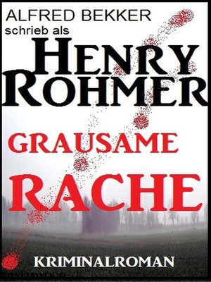 cover image of Grausame Rache