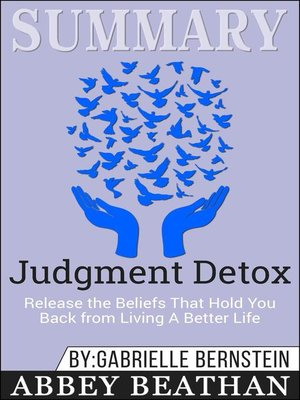 cover image of Summary of Judgment Detox