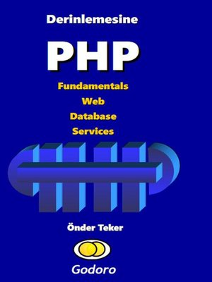 cover image of Derinlemesine PHP Fundamentals Web Database Services