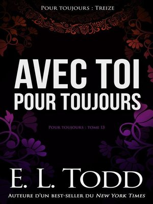 cover image of Avec toi pour toujours