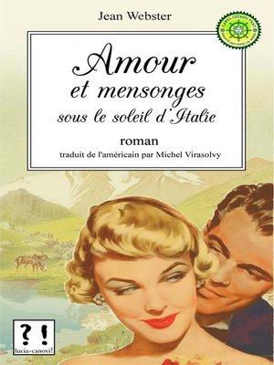 cover image of Amour et mensonges sous le soleil d'Italie