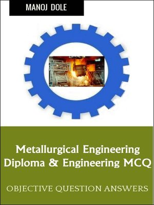 cover image of Metallurgical Engineering