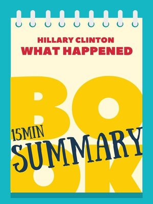 Hillary clinton book review what happened