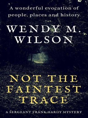 cover image of Not the Faintest Trace