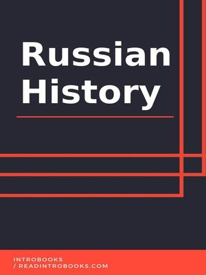 cover image of Russian History