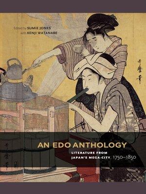 cover image of An Edo Anthology
