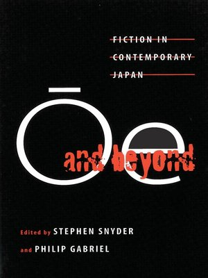 cover image of Ōe and Beyond