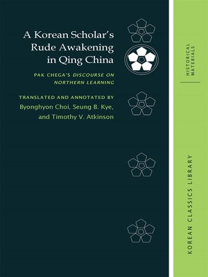 cover image of A Korean Scholar's Rude Awakening in Qing China