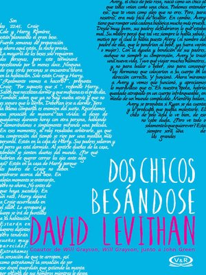 cover image of Dos chicos besándose