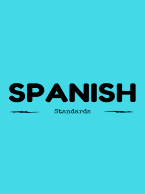 cover image of Standards for Learning Spanish
