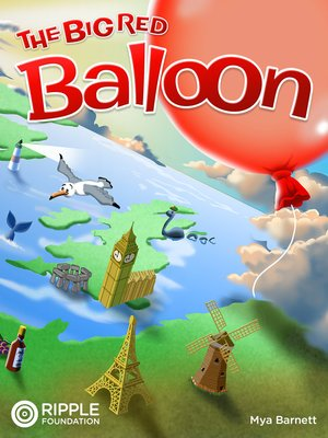 cover image of The Big Red Balloon