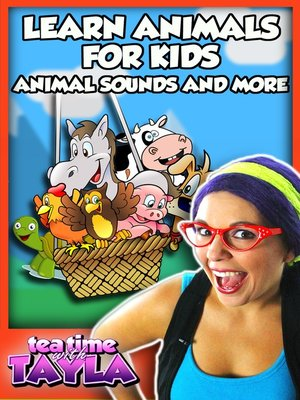 cover image of Learn Animals for Kids - Animal Sounds and More