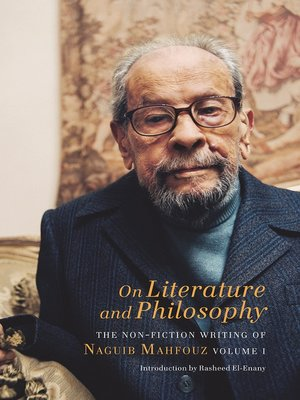 cover image of On Literature and Philosophy