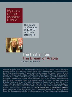 cover image of The Hashemites -The Dream of Arabia