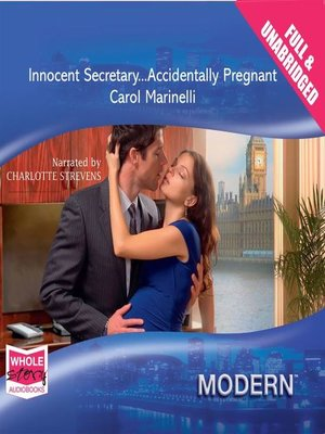 cover image of Innocent Secretary... Accidentally Pregnant