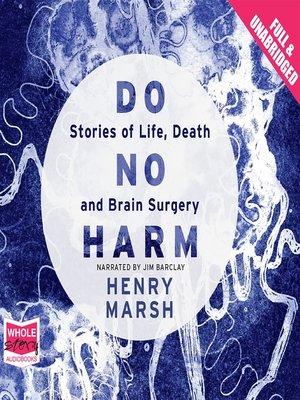 cover image of Do No Harm