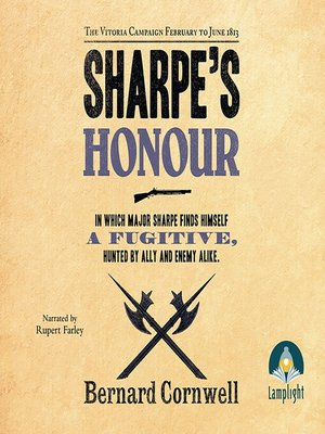 cover image of Sharpe's Honour