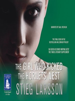 cover image of The Girl Who Kicked the Hornets' Nest
