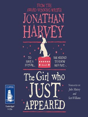 cover image of The Girl Who Just Appeared