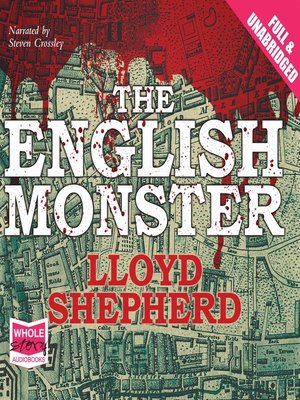 cover image of The English Monster