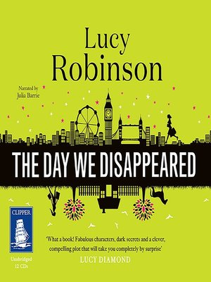 cover image of The Day We Disappeared