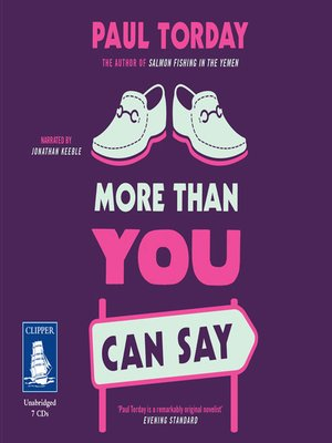 cover image of More Than You Can Say