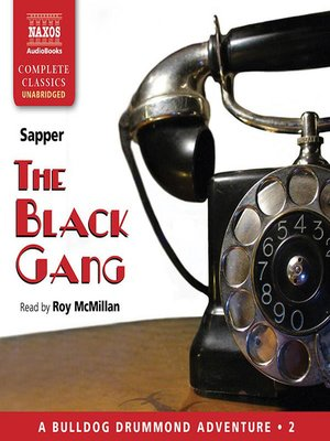 cover image of The Black Gang