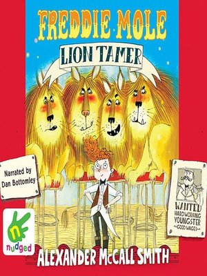 cover image of Freddie Mole, Lion Tamer
