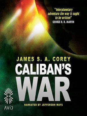 cover image of Caliban's War