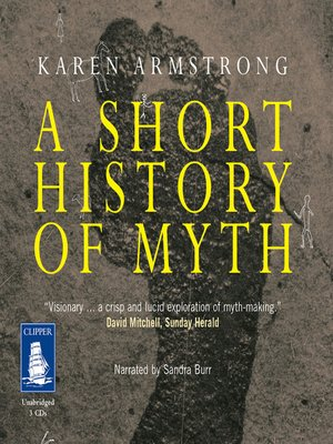 cover image of A Short History of Myth