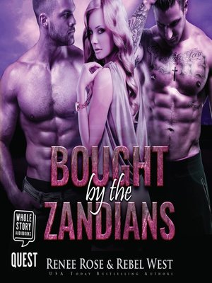 cover image of Bought by the Zandians