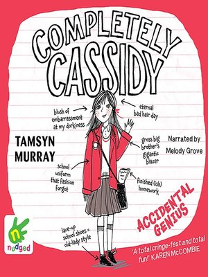 cover image of Completely Cassidy--Accidental Genius
