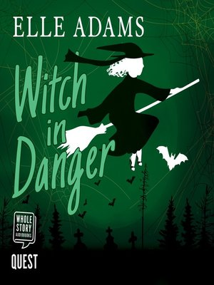 cover image of Witch in Danger--A Blair Wilkes Mystery Book 3