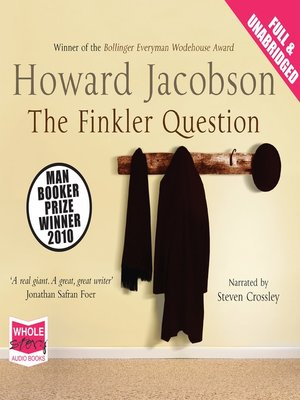 cover image of The Finkler Question