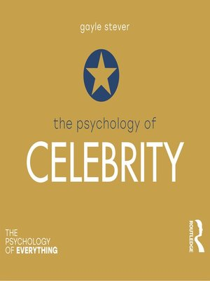 cover image of The Psychology of Celebrity