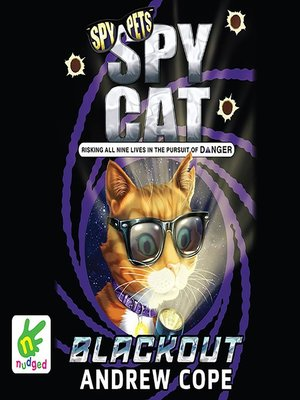 cover image of Spy Cat--Blackout