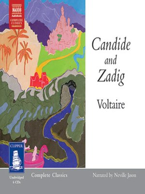 cover image of Candide and Zadig