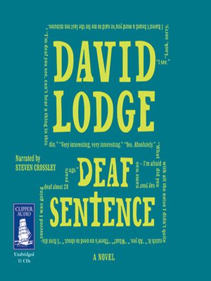 cover image of Deaf Sentence