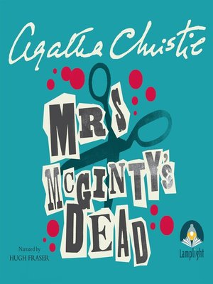 cover image of Mrs McGinty's Dead