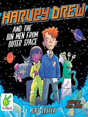 cover image of Harvey Drew and the Bin Men From Outer Space