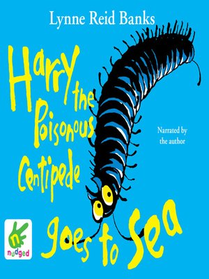 cover image of Harry the Poisonous Centipede Goes to Sea