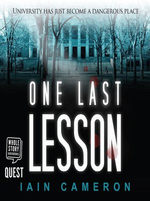 cover image of One Last Lesson