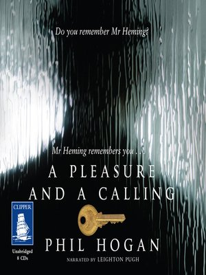 cover image of A Pleasure and a Calling